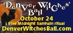 Denver Witches Ball - Oct 24, 2015